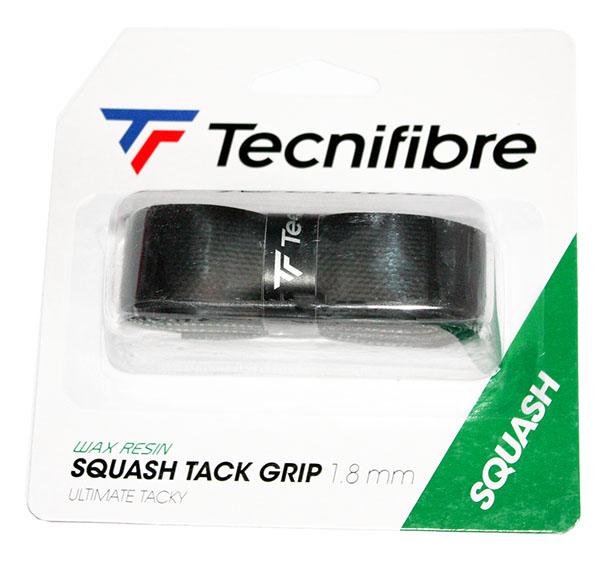 grip de raquette de Squash Tack grip est micro bosselé pour augmenter la sensation de très bonne tenue dans la  préhension du manche de la raquette.