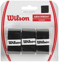 Grip de squash WILSON Pro-soft-Overgrip-noir