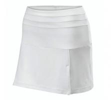 Textile de squash WILSON Jupe-team-skirt-II-blanche