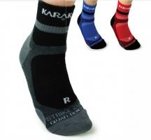 Textile de squash KARAKAL Chaussettes-Karakal-Quad-densites-couleur-mi-basse-40-47