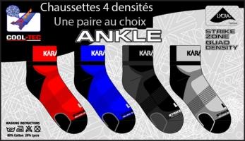Textile de squash KARAKAL Chaussettes-Quad-densites-36-39