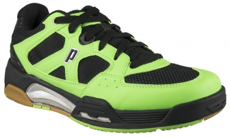 Chaussures de squash PRINCE NFS-Attack-verte