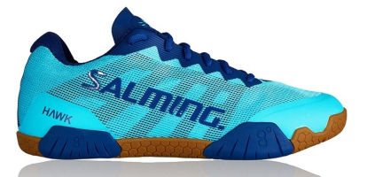 Chaussures de squash SALMING Hawk-Women-Turquoise