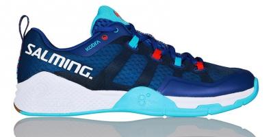 Chaussures de squash SALMING Kobra-2-Bleu-Atol