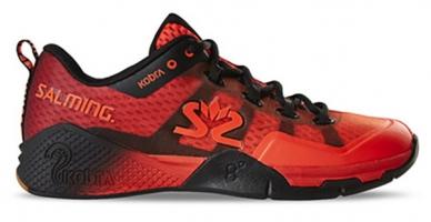 Chaussures de squash SALMING Kobra-2-Rouge-Noire