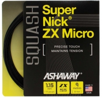 Cordage de squash ASHAWAY Super-nick-ZX-Micro-noir