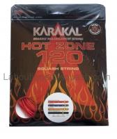 Cordage de squash KARAKAL Hot-Zone-120-rouge