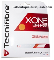 Cordage de squash TECNIFIBRE X-ONE-118-10m-Orange