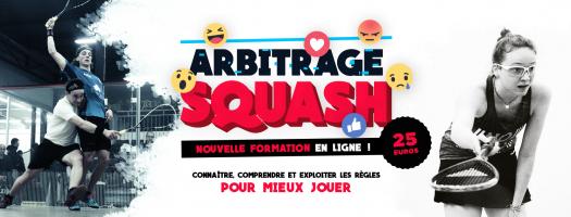vers Formation de squash ARBITRAGE