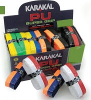 Grip de squash KARAKAL Grip-Pu-Duo-lot-10