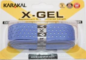 Grip de squash KARAKAL Pu-super-grip-X-GEL-Bleu
