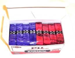 Grip de squash KARAKAL Grip-Pu-Multicouleur-bte-24