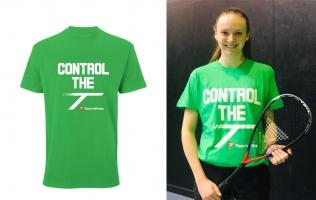 Textile de squash TECNIFIBRE CONTROL-THE-T