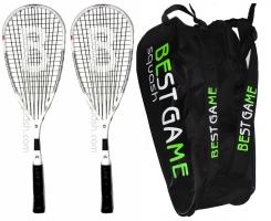 Pack de squash BESTGAME Pack-2-MacTT2-9R