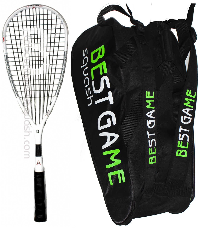 Les packs font des cadeaux idéaux avec des équipements homogènes ou compatibles avec des remises imbattables. Ce qui fait la raquette plus le sac à moitié prix ! Photo pas à l'échelle, le sac est plus grand que la raquette.