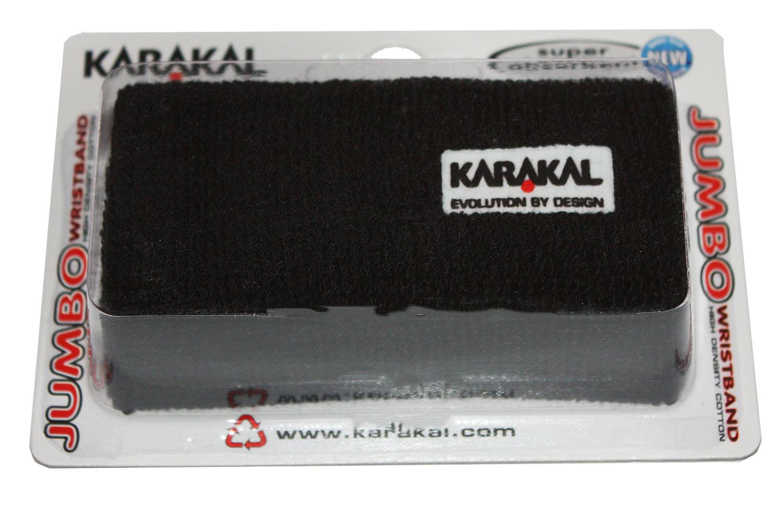 Un des poignets les plus long, le poignet éponge de Karakal le Jumbo.
