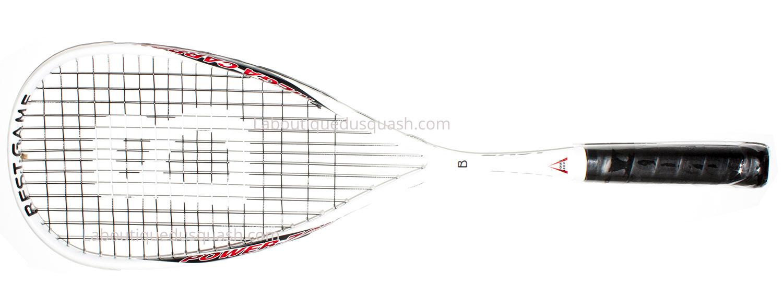 Cette raquette de squash <strong>Easy Bestgame</strong> est un tout petit peu plus en tête que le reste de la gamme BestGame mais assez légère pour rester très maniable. Elle apporte plus de puissance afin d'être dans la facilité d'envoyer la balle au fond. Effectivement pour ceux qui souhaitent un confort dans la frappe de balle, on atteint le niveau d'une Triad Wilson. Elle porte bien son nom, agréable et facile à jouer. Dans cette gamme de prix cette raquette de squash Bestgame Easy est très intéressante. Sortie en février 2019.