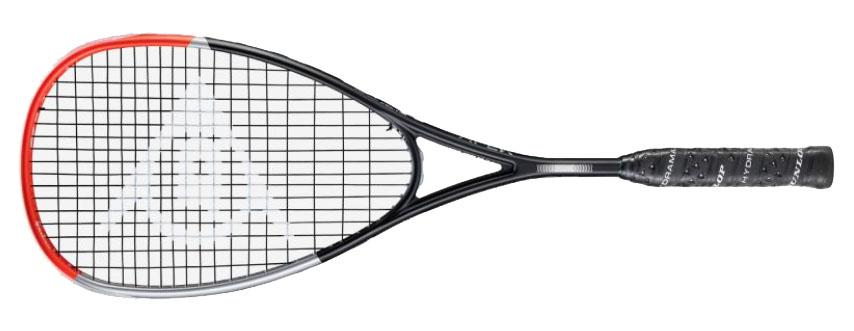 La raquette de squash Dunlop Apex Supreme 5.0 est une bonne alternative au cadre haut de gamme, reste dans l'esprit Dunlop confort et puissance, une raquette pour plus pour le contrôle et le touché. poids mesuré 157gr. .Cordée et housse.