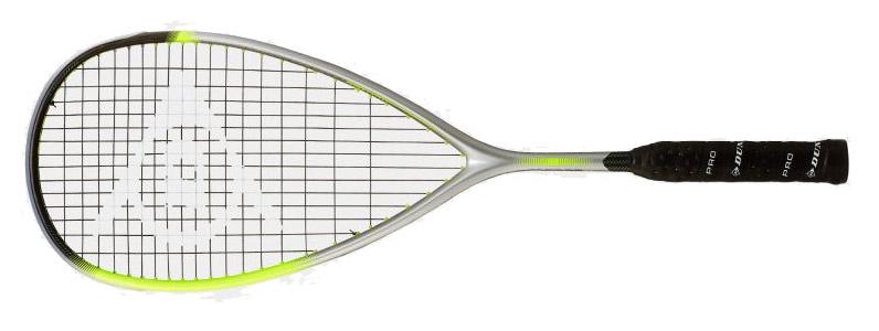 La raquette de squash <strong>Dunlop Hyperfibre XT Revelation 125 HL</strong> possède un énorme tamis de 500cm2, la Force revelation 125 Dunlop est facile à jouer, très agréablement en main, à l'aise dans tous les compartiments du jeu, légère très maniable.