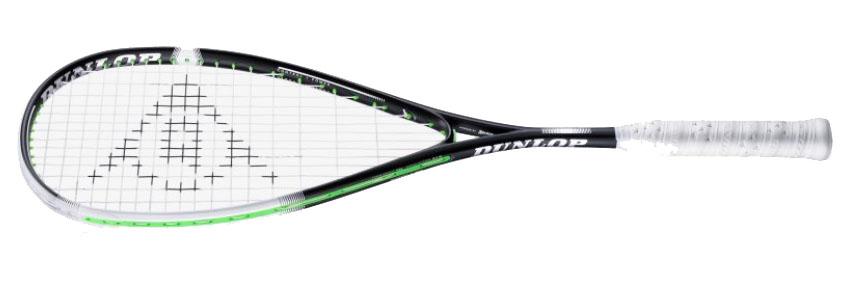 La raquette de squash Dunlop SONIC CORE Evolution 130 est un peu plus puissante que la 120 tout en gardant une très bonne maniabilité. Son cadre fin apporte tolérance et confort de frappe. Une très bonne raquette.