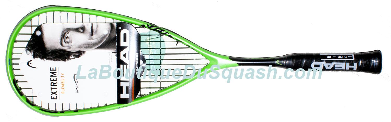 La raquette de squash <strong>head Extreme 135</strong> fait partie de la suite de la gamme Ignition, gros tamis, cadre rigide tout est fait pour envoyer ! Raquette Extreme 135 puissante, moins équilibrée en tête que l'Extreme 120 pour avoir une sensation assez proche en main avec un prix plus contenu.