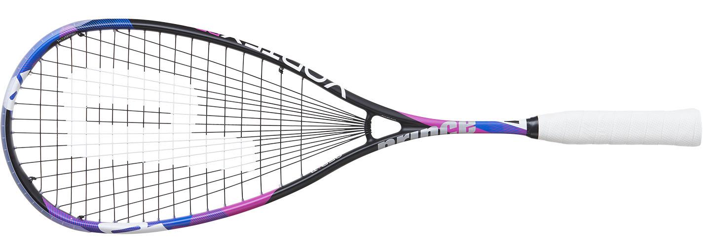 La raquette de squash <strong>Prince Vortex Pro 650</strong> est notre préférée, non pas que ce soit le choix de Ramy Ashour mais c'est celle que l'on a voulu garder le plus en main dans le test de la collection . Ici en version pro un peu plus équilibrée en tête que la version Elite. La Prince Vortex Pro 650 garde une très bonne maniabilité avec ce qu'il faut de puissance en plus. La raquette du maître du jeu d'attaque et elle donne envie d'agresser le jeu. Une très bonne raquette.