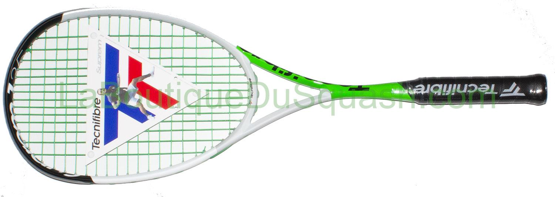 La raquette de squash suprem 135 Curv Tecnifibre est sortie en Août 2019. Avec ce cordage, cette raquette est faite pour envoyer du lourd, l'équilibre est bien en main, un peu en tête mais bien en main. Cette 135 apporte un léger gain de maniabilité par rapport aux anciennes. Avec ce poids le cordage pêchu 305 original est bien adapté dans cette version.