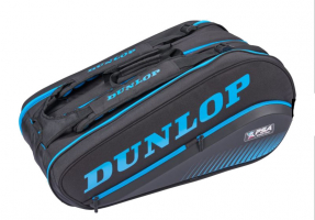 Sac de squash DUNLOP PSA-BackPack-Black-Blue-12