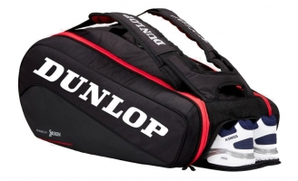 Sac de squash DUNLOP CX-SERIES-9R-Red-Black