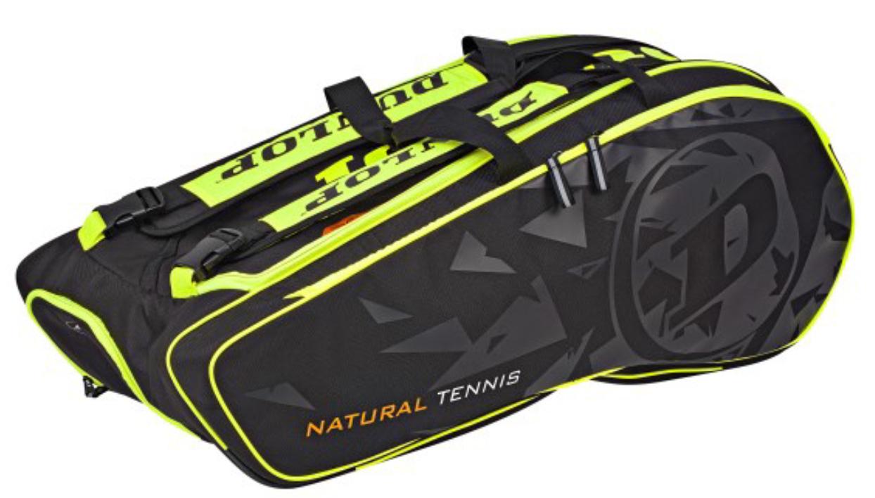 Matière et design du sac très apprécié. Normalement dédié au tennis, il est parfaitement adapté dans cette contenance à notre sport. Pratique, esthétiquement réussi il fera un bon partenaire.