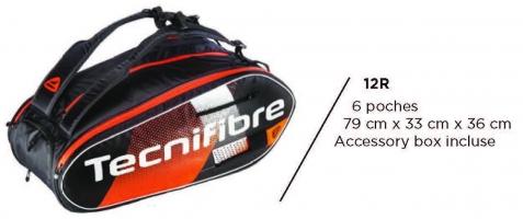 Sac de squash TECNIFIBRE AIR-Endurance-12R-2020
