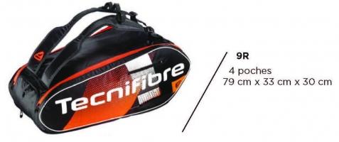 Sac de squash TECNIFIBRE AIR-Endurance-9R-2020