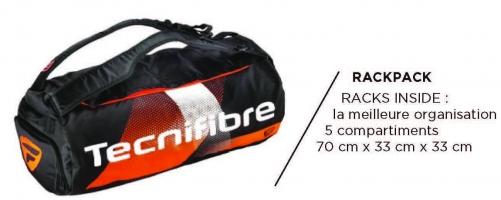 Sac de squash TECNIFIBRE AIR-Endurance-RackPack-2020